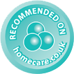 Recommended on homecare.co.uk