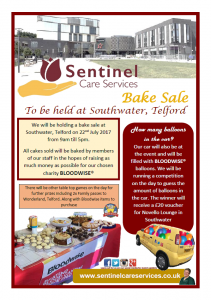 Southwater bake sale pic